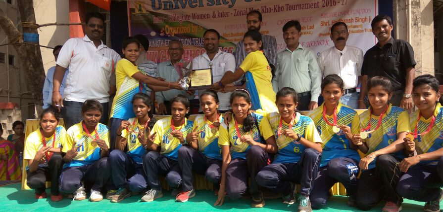 Gold Medal For Women Kho-Kho Team