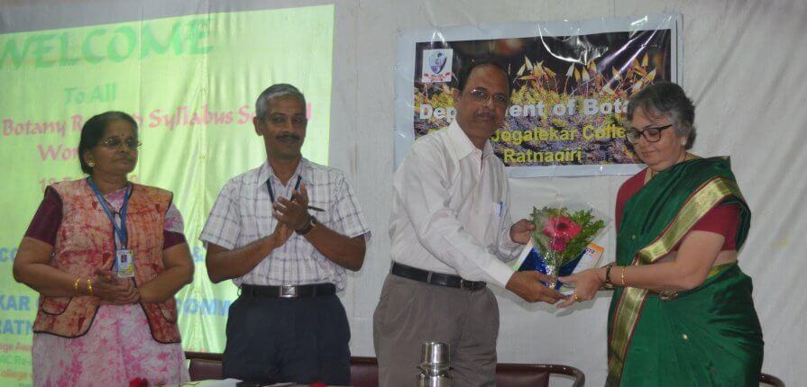मुंबई विद्यापीठाच्या वनस्पतीशास्र सुधारित अभ्यासक्रमावरील कार्यशाळा संपन्न