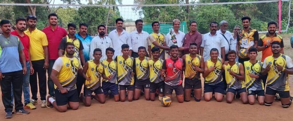 मुंबई विद्यापीठ विभागीय व्हॉलीबॉल स्पर्धेत गोगटे जोगळेकर महाविद्यालयाचे विजेतेपद