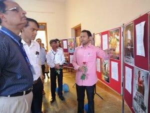 गोगटे जोगळेकर महाविद्यालयाच्या झेप सांस्कृतिक महोत्सवात 'विविधरंगी प्रदर्शनांचे' आयोजन