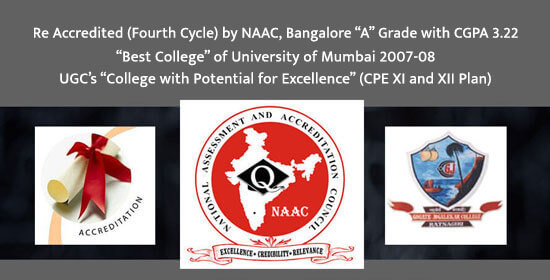 Re Accredited (Fourth cycle) by NAAC